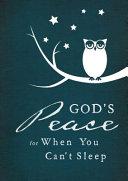God s Peace When I Can t Sleep