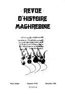 Revue d histoire maghrebine