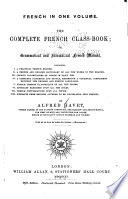 French in One Volume Book