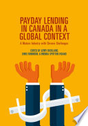 Read Online Payday Lending in Canada in a Global Context For Free