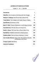 Journal of Vaiṣṇava Studies