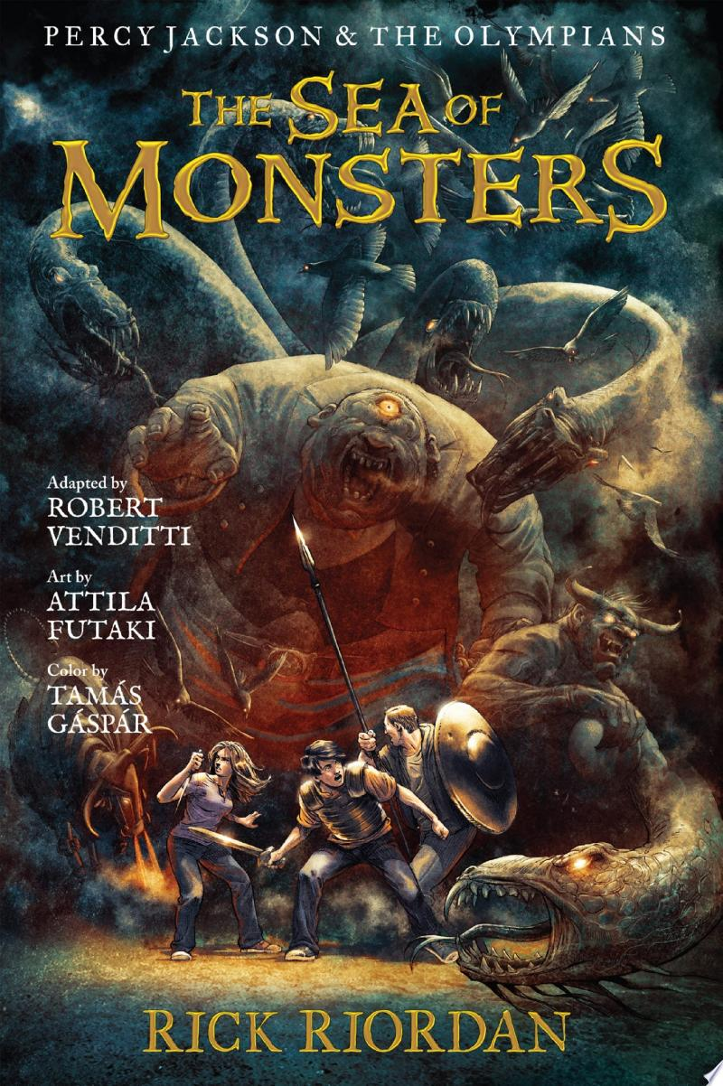Percy Jackson and the Olympians: The Sea of Monsters: The Graphic Novel image