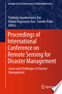 Proceedings of International Conference on Remote Sensing for Disaster Management Book