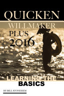 Quicken Willmaker Plus 2016  Learning the Basics
