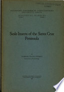 Scale Insects of the Santa Cruz Peninsula