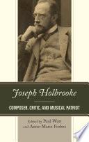 Joseph Holbrooke Book
