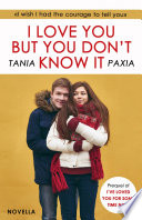 I Love You But You Don t Know It Book