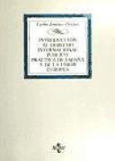 Introducción al Derecho Internacional Público. Práctica de España y de la Unión Europea