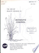 The Use of Remote Sensing in Mosquito Control