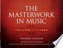The Masterwork in Music  Volume II  1926