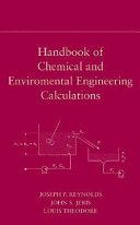 Handbook Of Chemical And Environmental Engineering Calculations Book PDF