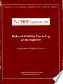 Reduced Visibility Due to Fog on the Highway