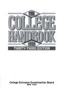 The College Handbook  1996
