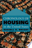 Chronology of Housing in the United States