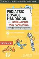 Pediatric Dosage Handbook
