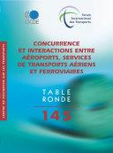 Pdf Tables rondes FIT Concurrence et interactions entre aéroports, services de transports aériens et ferroviaires Telecharger