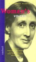 Women S Voices Book