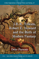 Pdf J.R.R. Tolkien, Robert E. Howard and the Birth of Modern Fantasy