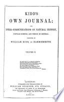 Kidd s Own Journal