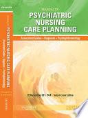 Manual of Psychiatric Nursing Care Planning   E Book Book