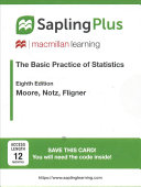 SaplingPlus for the Basic Practice of Statistics  Multi Term Access