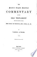 The Preacher s Complete Homiletical Commentary on the Old Testament  Leviticus Book PDF