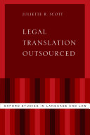 Pdf Legal Translation Outsourced Telecharger