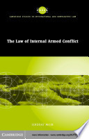 The Law of Internal Armed Conflict