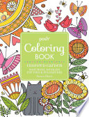 Posh Adult Coloring Book Inspired Garden
