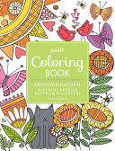 Posh Adult Coloring Book Inspired Garden Book