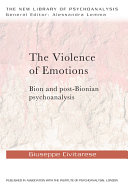 The Violence of Emotions