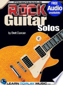 Rock Guitar Lessons   Licks and Solos