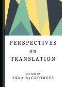 Perspectives on Translation Pdf/ePub eBook