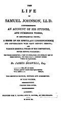 Pdf The Life of Samuel Johnson, LL.D.