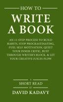 Pdf How to Write a Book