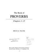 The Book of Proverbs Book