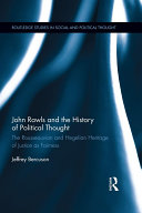 John Rawls and the History of Political Thought Pdf/ePub eBook