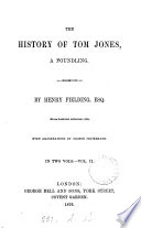 The History Of Tom Jones A Foundling With Illustr By G Cruikshank