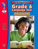 Grade 6 Language Test   Parent Guide