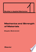 Mechanics and Strength of Materials Book
