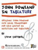 John Dowland in Tablature