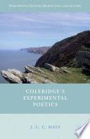 Coleridge   s Experimental Poetics