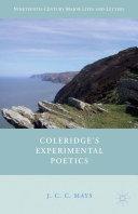 Coleridge's Experimental Poetics [Pdf/ePub] eBook