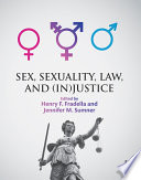 Sex  Sexuality  Law  and  In justice