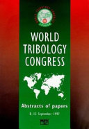 New Directions In Tribology Book PDF