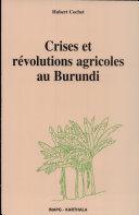 Pdf Crises et révolutions agricoles au Burundi Telecharger