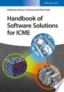 Handbook Of Software Solutions For Icme Book PDF