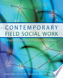 Contemporary Field Social Work