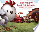 That s why We Don t Eat Animals Book