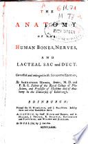 The Anatomy of the Human Bones, Nerves, and Lacteal Sac and Duct
